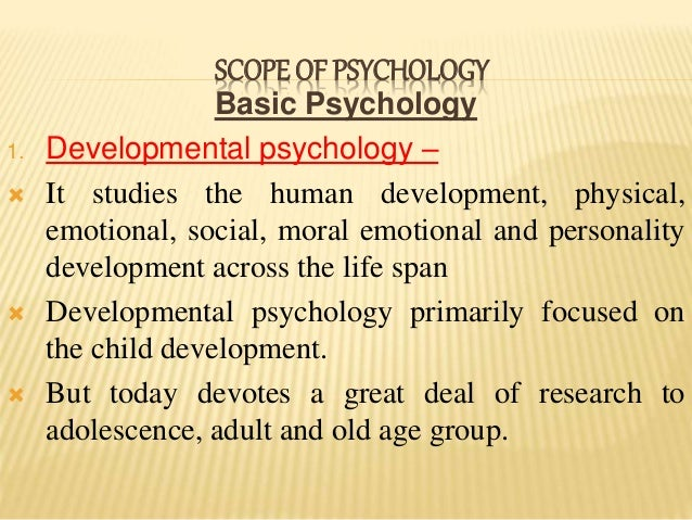 scope of experimental psychology It is called empirical or experimental, because we have an immediate experience  of  the scope of psychology will be made still clearer by pointing out how it is.