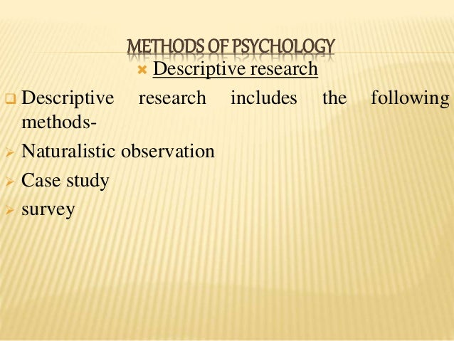 Case study writers method in psychology research