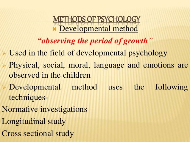 how is the case study method utilized in psychology research It is one of the qualitative research methods used mostly by the clinical  psychologists it is an in-depth look at the individual in the context of his  environment.