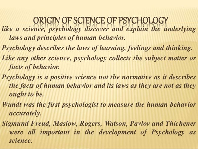 how to learn human psychology