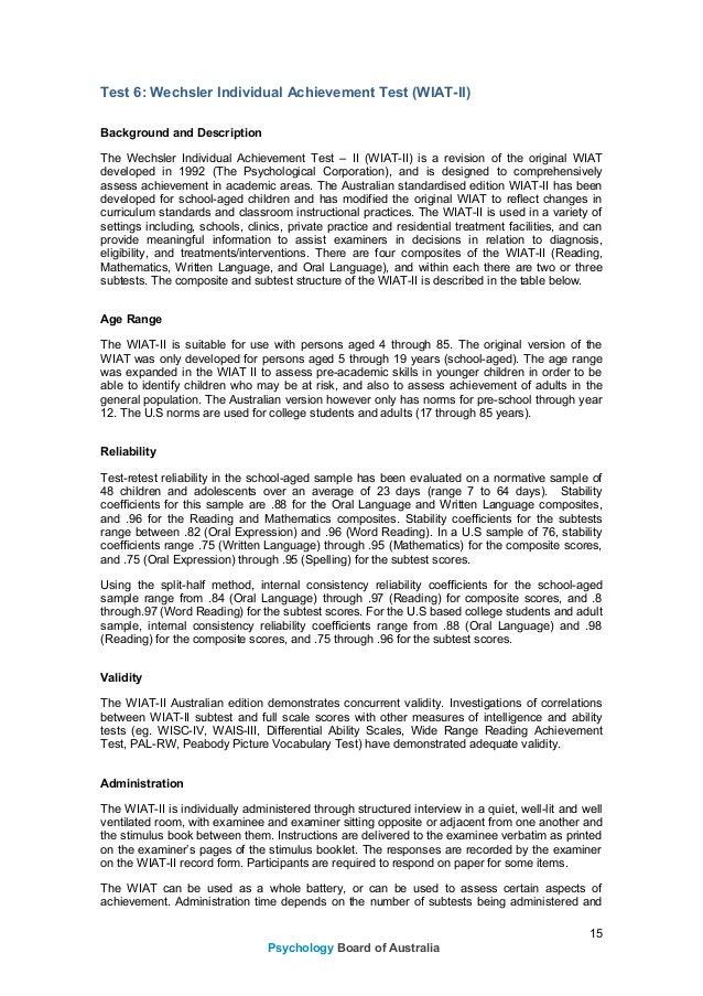 Psychology board---national-psychology-examination---assessment-domai…