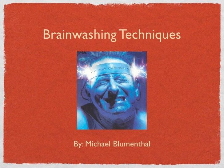 Is socialization brainwashing