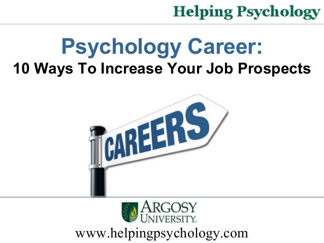 career in psychology Psychology careers are in high demand and rank among some of the top jobs in the us learn more about the psychology major and degree programs.