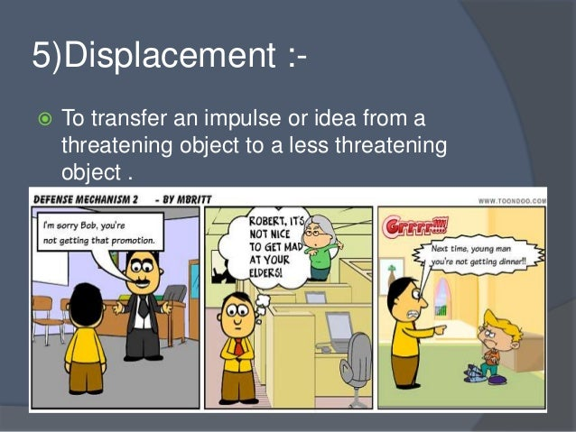 Image result for displacement defense mechanism