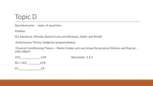 seligman preparedness theory and little albert Seligman preparedness theory and little albert seligman preparedness theory - writebuywritingessaytech seligman preparedness theory an essay or paper on the.
