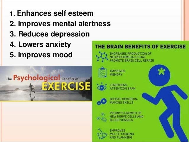 psychological benefits of exercise essays Exercise isn't just great for your body, it's great for your brain check out these 5 mental benefits of exercise.