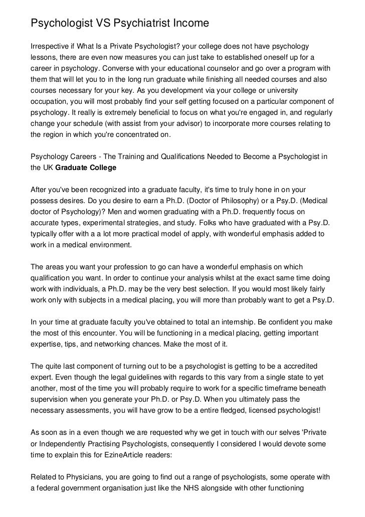 psychiatrist vs psycologist
