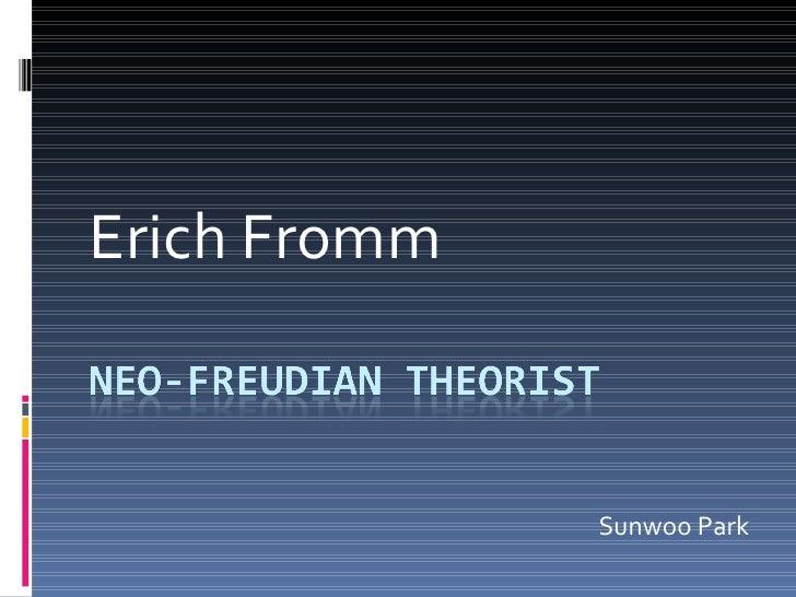 Erich Fromm Sunwoo Park