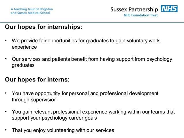 Psychology Graduate Internships Slide 3