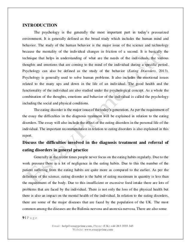 psychology and health problems essay Essay on relevance of psychology to may be male or female, young or old, will come to the hospital with so many physical and psychological problems they will have clinical and counselling psychology the nurses in community health centres may help people by recognising the mental.
