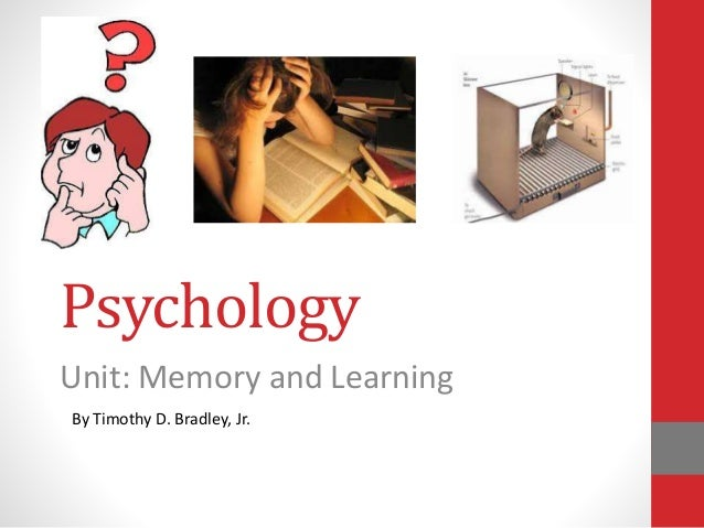 psychology coursework memory Research is being conducted in order to find a relationship between the ability to learn and retain information and the mood and emotions of a participant and its effect on memory this can be used in the education field to see how negative self-image/ emotions toward oneself affects their learning ability of.