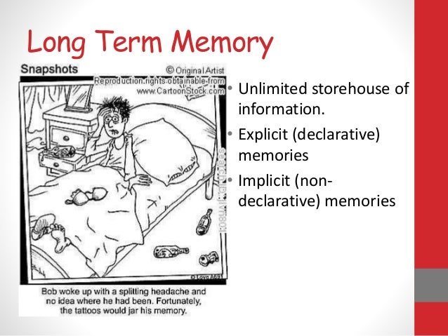 long term memory consumer behavior Neuro-insight — a consumer neuroscience research company — revealed the  key links between tv advertising and long-term memory encoding (ltme)   affect our future behavior, the analysis gives advertisers a good clue.