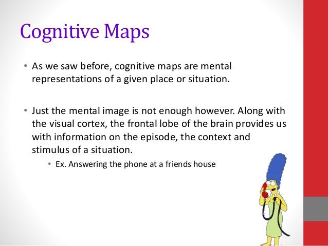 Cognitive Map Psychology Definition Psychology memory power point