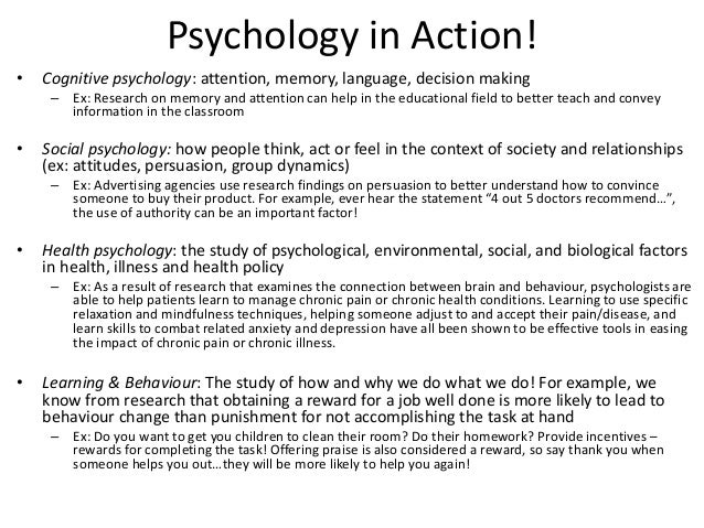 study of the psychological impacts of The findings of a recent study from the american psychological association are right on target the study confirms that childhood psychological abuse has.