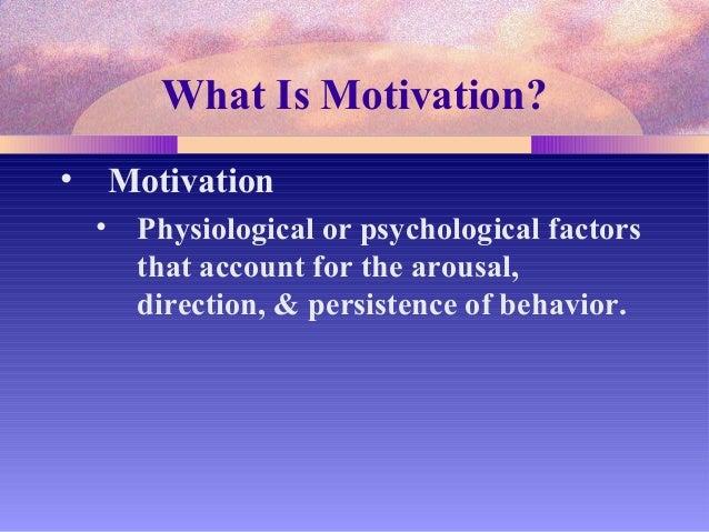 motivation and emotion psychology articles