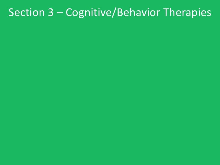 Psychology notes ch. 17 - therapy - short