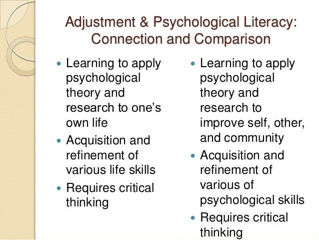 Cengage Learning Webinar Psychology Of Adjustment