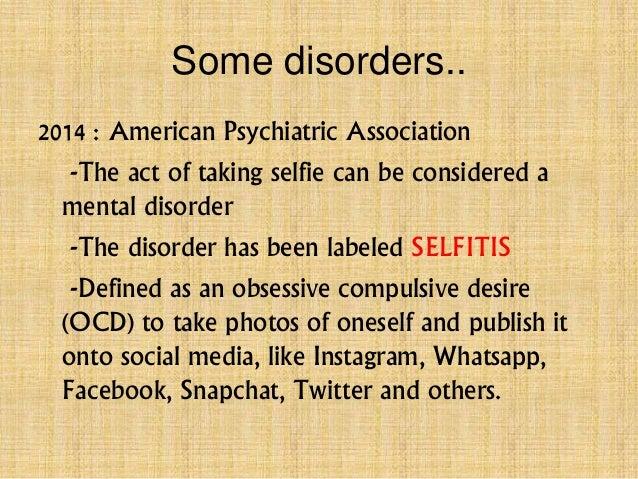 Psychology of selfie