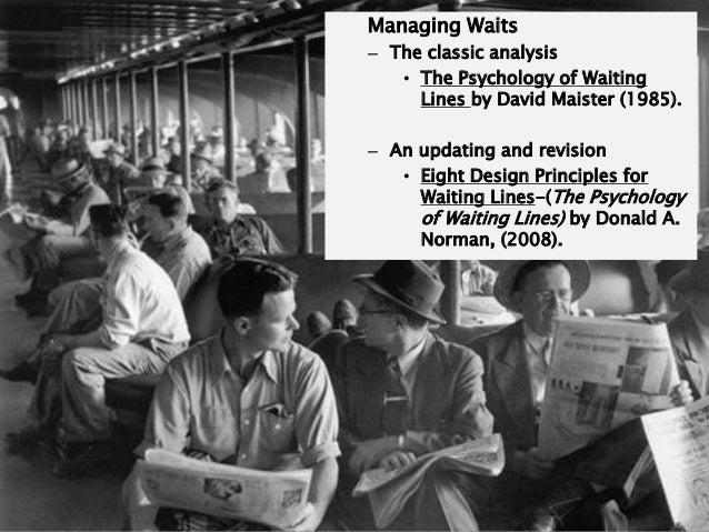 Psychology Of Waiting
