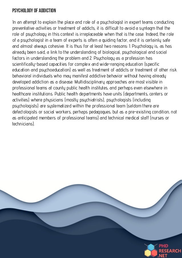 Phd research proposal in psychology