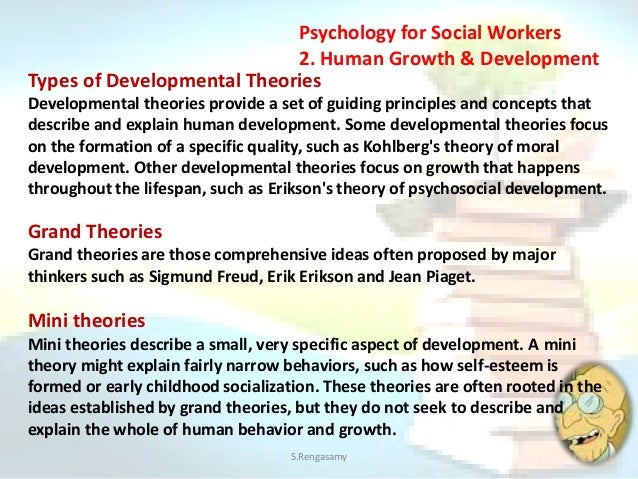 theories of human development and behavior