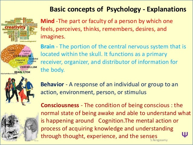 the concepts of psychology The concept of attitude occupies a very favored position in social psychology  psychologists as well informed as g allport (1) and g murphy (9) consider it the .