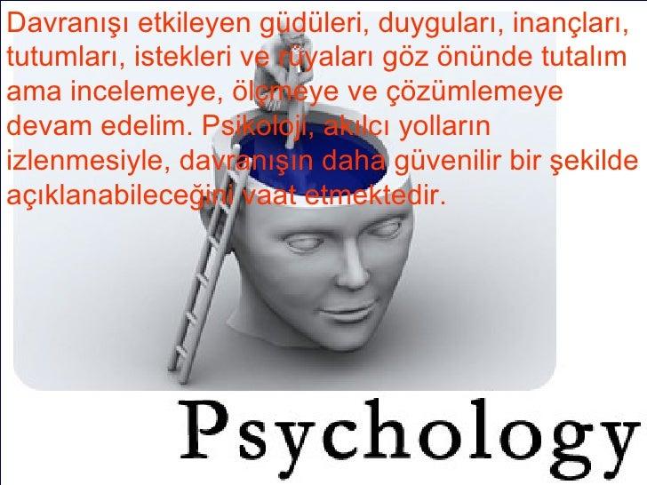 Tutkulu Olma Teorisi ve Psikolojide Kullanımı