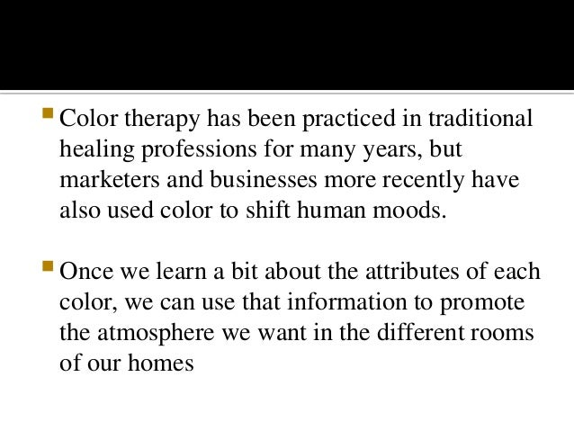Colours And Moods colours and moods(psychology)