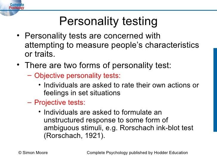 Psychometric testingpvl