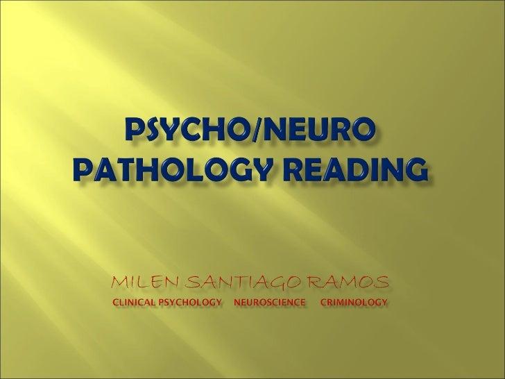 PSYCHOPATHOLOGYREADING