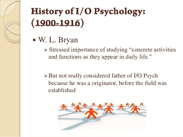 Industrial Organizational Psychology Essays (Examples)