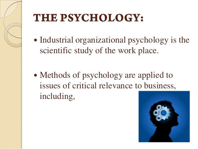 what is organizational psychology Industrial-organizational (i/o) psychology focuses on individual behaviors and needs in the workplace, and offers solutions to most employee concerns while the two sides of this field study similar topics, they offer different perspectives and specialized insight to help employers get the best out of their team.
