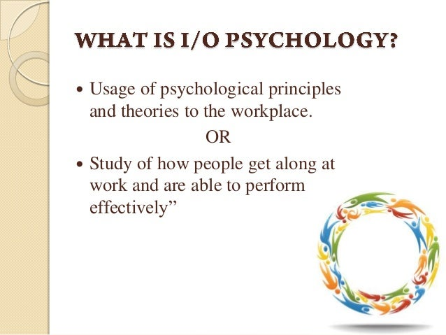thesis about industrial psychology Open document below is an essay on industrial and organizational psychology from anti essays, your source for research papers, essays, and term paper examples.