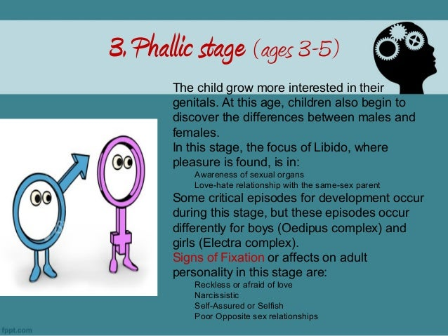 Psychosexual developmental stages