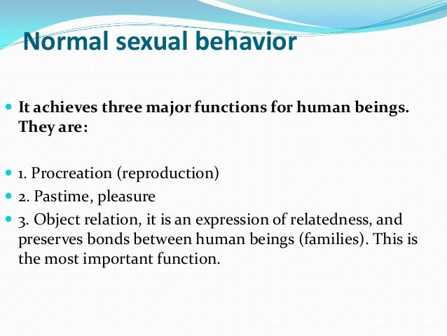 Psycho sexual dysfunction