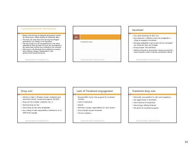 Psychosexual evaluation questionnaire