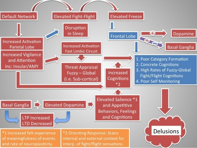 Delusions: Working Model of Neuroendocrinology of Delusions in Psychosis