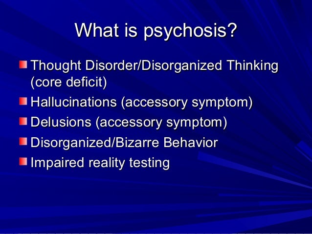 Psychosis in Youth Slide 3