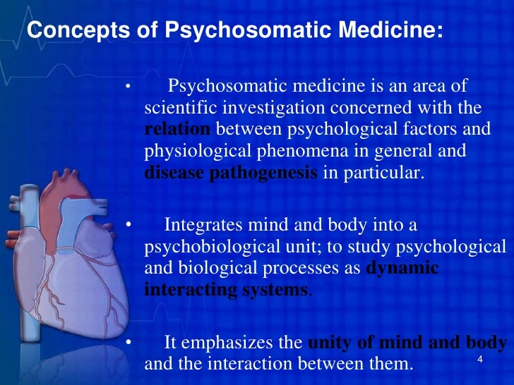 psychosomatic medicine Official journal of the european association of psychosomatic medicine (eapm) and affiliated with the international college of psychosomatic medicine journal of psychosomatic research is a multidisciplinary research journal covering all aspects of the relationships between psychology and medicine.