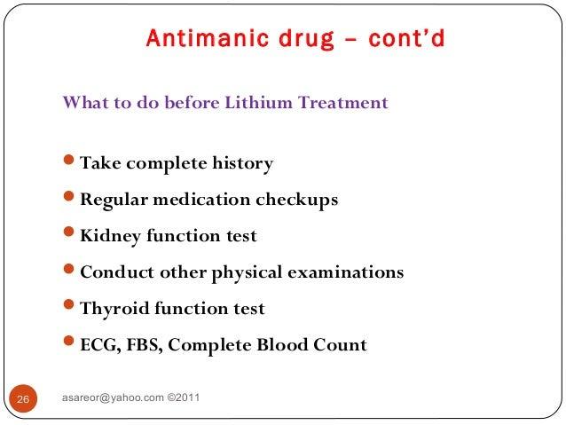 Lithobid Drug Class