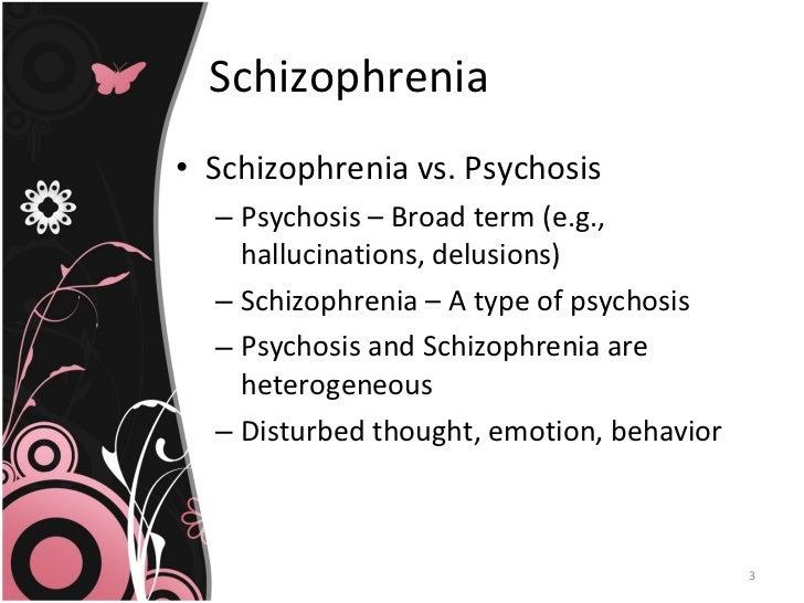 Psychotic disorders Slide 3
