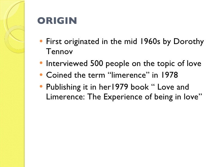 Love limerence vs Love and