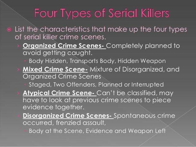 evaluating the unique characteristics of a serial killer 15 of the most wtf facts about serial killers they're hiding in plain sight.