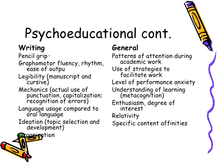 Psychological Testing and Children
