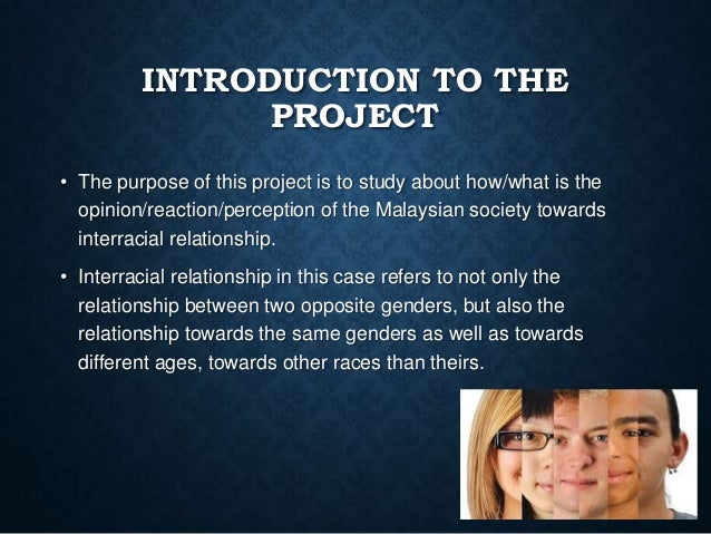 INTRODUCTION TO THE PROJECT • The purpose of this project is to study about how/what is the opinion/reaction/perception of...