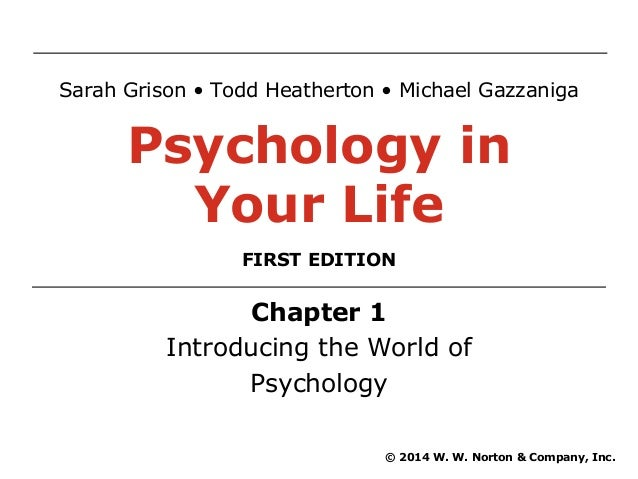 chapter 1 intro to social psychology From a general summary to chapter summaries to explanations of famous quotes, the sparknotes social psychology study guide has everything you need to ace quizzes, tests, and essays.