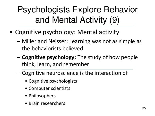 analysis of humanistic psychology cognitive psychology and the positive psychology movement Cognitive and positive psychology write a paper that presents a comparison and analysis of cognitive psychology and the positive psychology movement be sure your paper addresses the following elements.