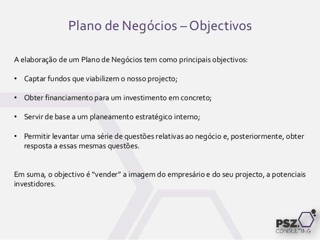 Como elaborar um plano de negocios simplificado