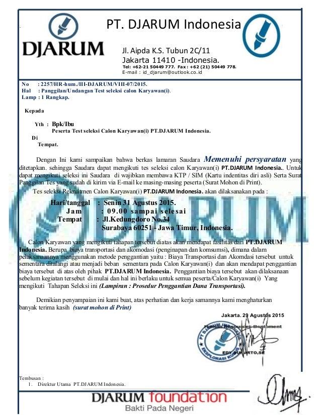Awas Penipuan Mengatas Namakan Pt Djarum Indonesia