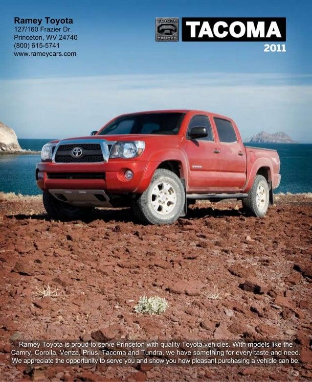 2011 Ramey Toyota Tacoma Princeton Wv